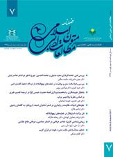 فصلنامه مطالعات ادبی متون اسلامی-شماره ۷