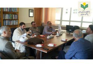 جلسه هم اندیشی گروه قرآن و مطالعات اجتماعی پژوهشکده اسلام تمدنی با گروه قرآن پژوهی پژوهشگاه حوزه و دانشگاه