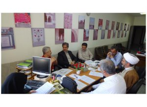 جلسه شورای علمی گروه هنر و تمدن اسلامی پژوهشکده اسلام تمدنی؛