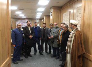 بازدید از کتابخانه امام خمینی(بزرگترین بنای فرهنگی مشهد)