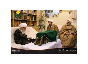 رونمایی از موسوعه ۱۴ جلدی علامه محمدحسین کاشف الغطاء