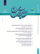 فصلنامه مطالعات ادبی متون اسلامی- شماره ۱۱