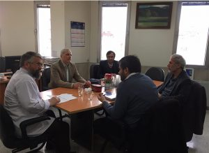 جلسه مدیران موسسه کیفیت رضوی و رئیس پژوهشکده اسلام تمدنی و مدیر گروه فقه کاربردی پیرامون همکاری های مشترک